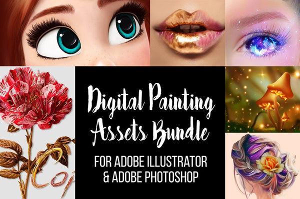 Digital Painting Assets Bundle
