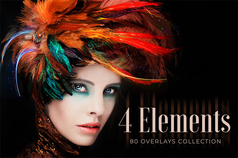 4 Elements Overlays Collection