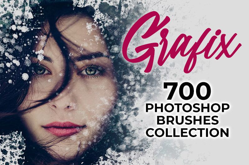 Grafix: 700 Creative Photoshop Brushes Collection