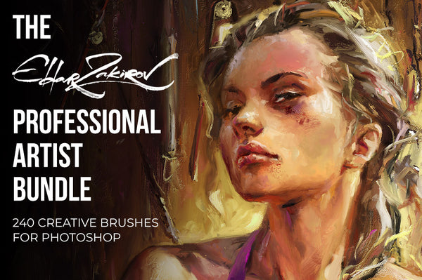 The Eldar Zakirov Professional Artist Photoshop Brushes Bundle