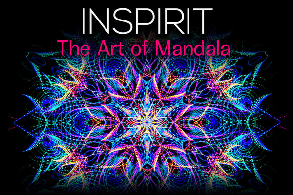 Inspirit: mandala & kaleidoscope art creation app