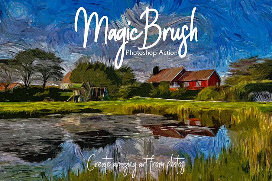 Magic Brush Photoshop Action