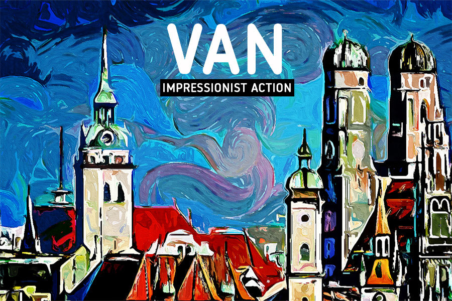 VAN Impressionist Photoshop Action
