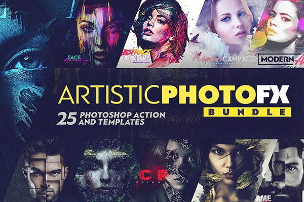 Artistic Photo Fx Photoshop Actions Collection