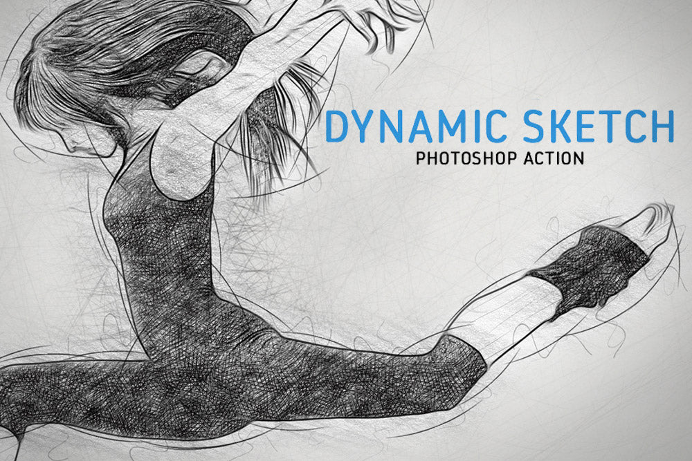 Dynamic Sketch Photoshop Action