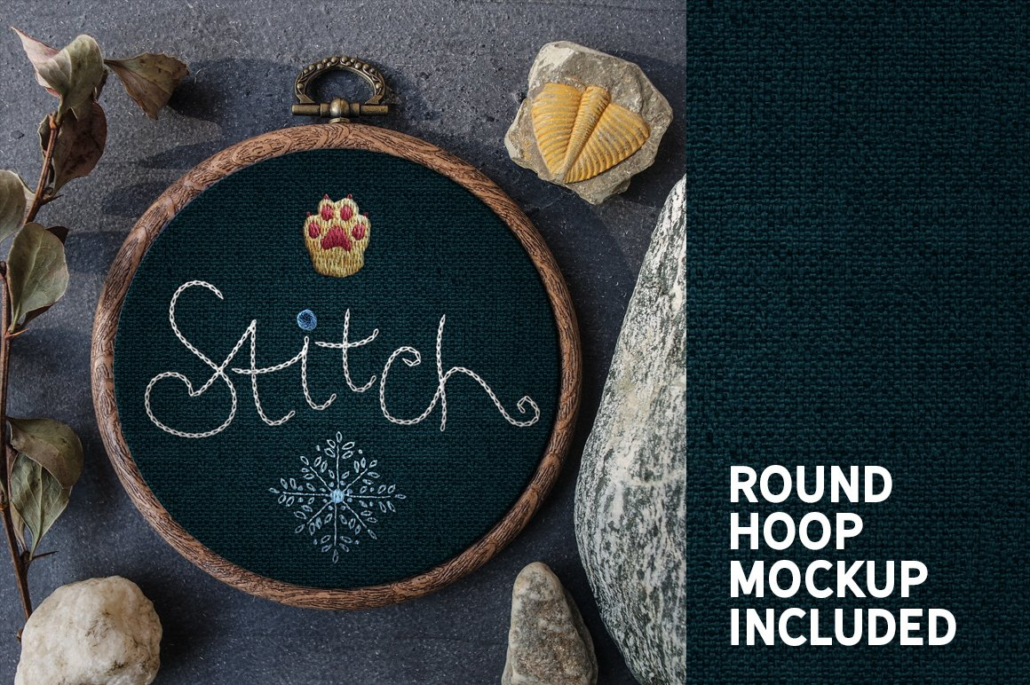 Stitch Effect Photoshop Toolkit