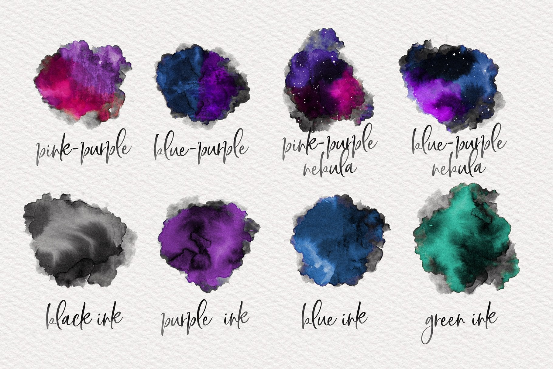 Watercolor Two-Tone Toolkit for Photoshop