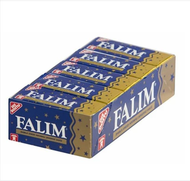 Falim Chewing Gum Mastic Pack of 20
