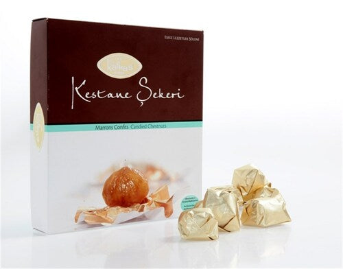 Kafkas Kestane Sekeri Candied Chestnut 240gr (12 Pieces)