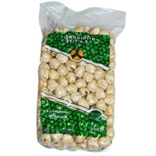 Fiskobirlik Roasted Hazelnut 13-15mm 250gr Vacuum Pack