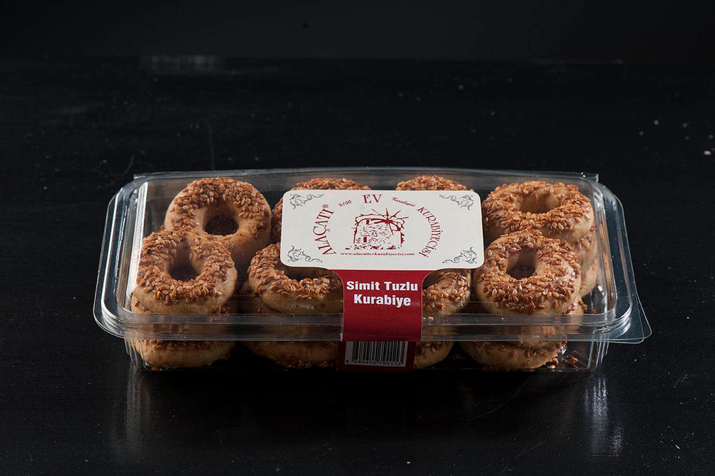 Alacati Homestyle Bagel Salty Cookies 250gr