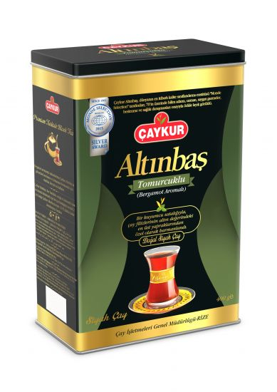 Caykur Altinbas Earl Grey 400gr Can