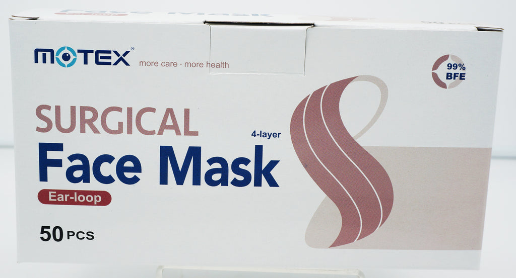 ASTM Level 3 Medical Face Masks box of 50 pcs (Made In Taiwan)