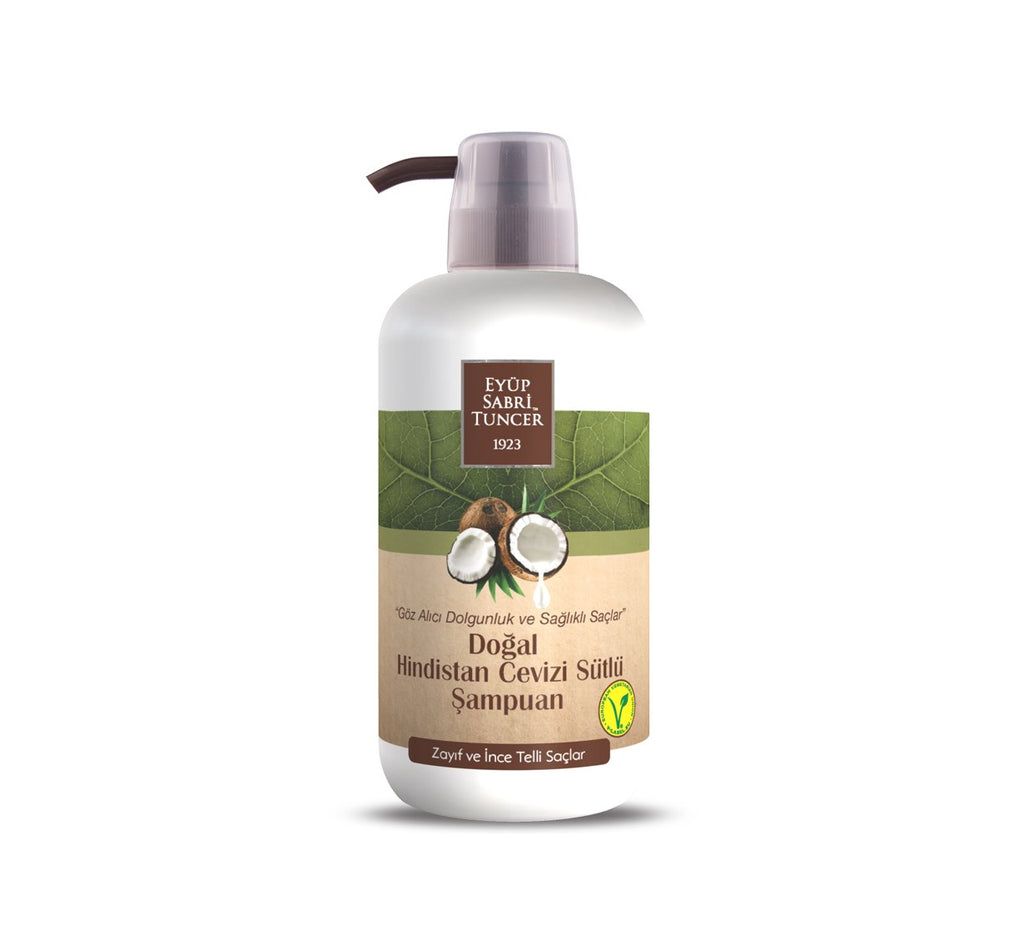 EST Natural Coconut Milk Shampoo 600ml