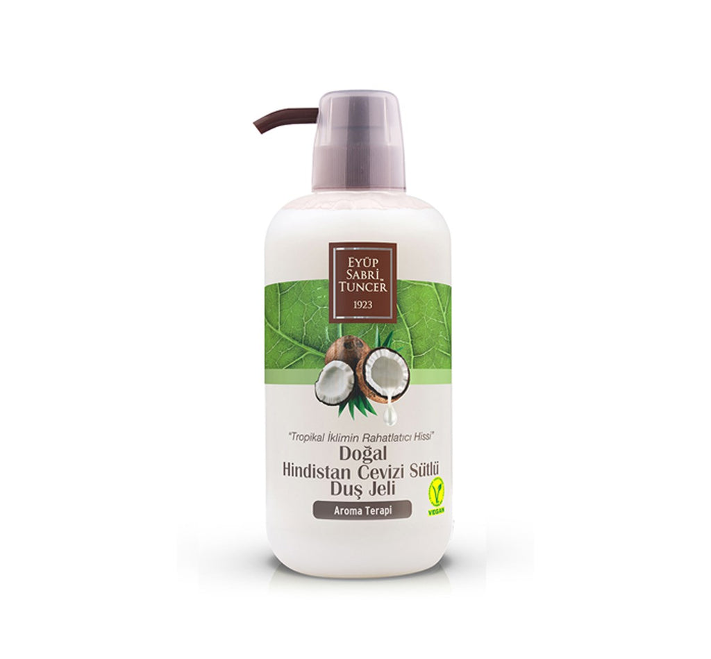 EST Natural Coconut Milk Shower Gel 600ml