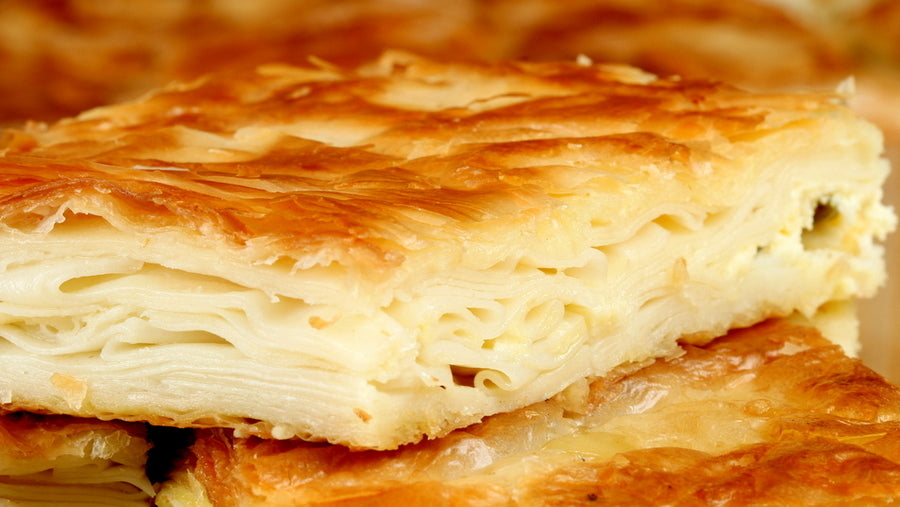 Gulluoglu Filo Dough Layers with Cheese ( Su Boregi) 454gr FROZEN
