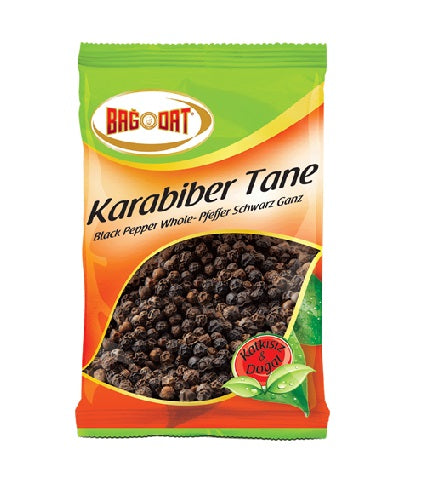 Bagdat Black Pepper Whole (Kara Biber) 40gr