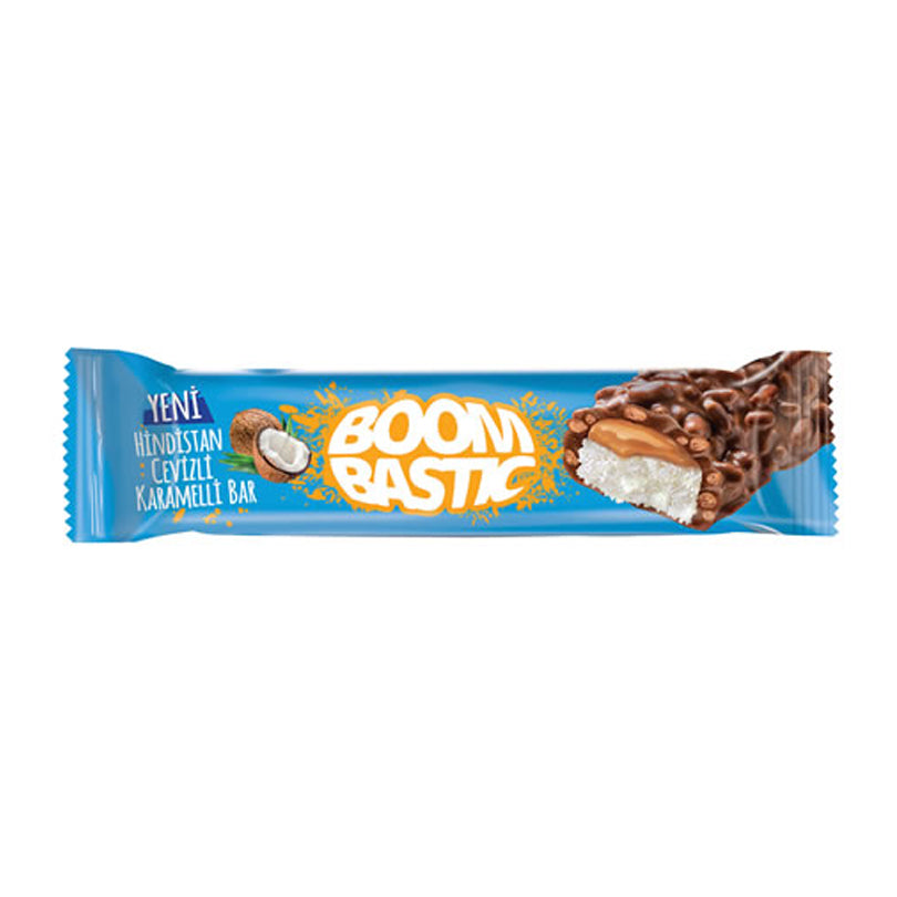 Solen Boombastic Coconut Bar with Caramel and Crispy rice 35gr