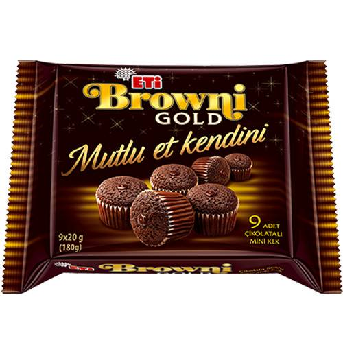 Eti Browni Gold Mini Cake 20gr x 9