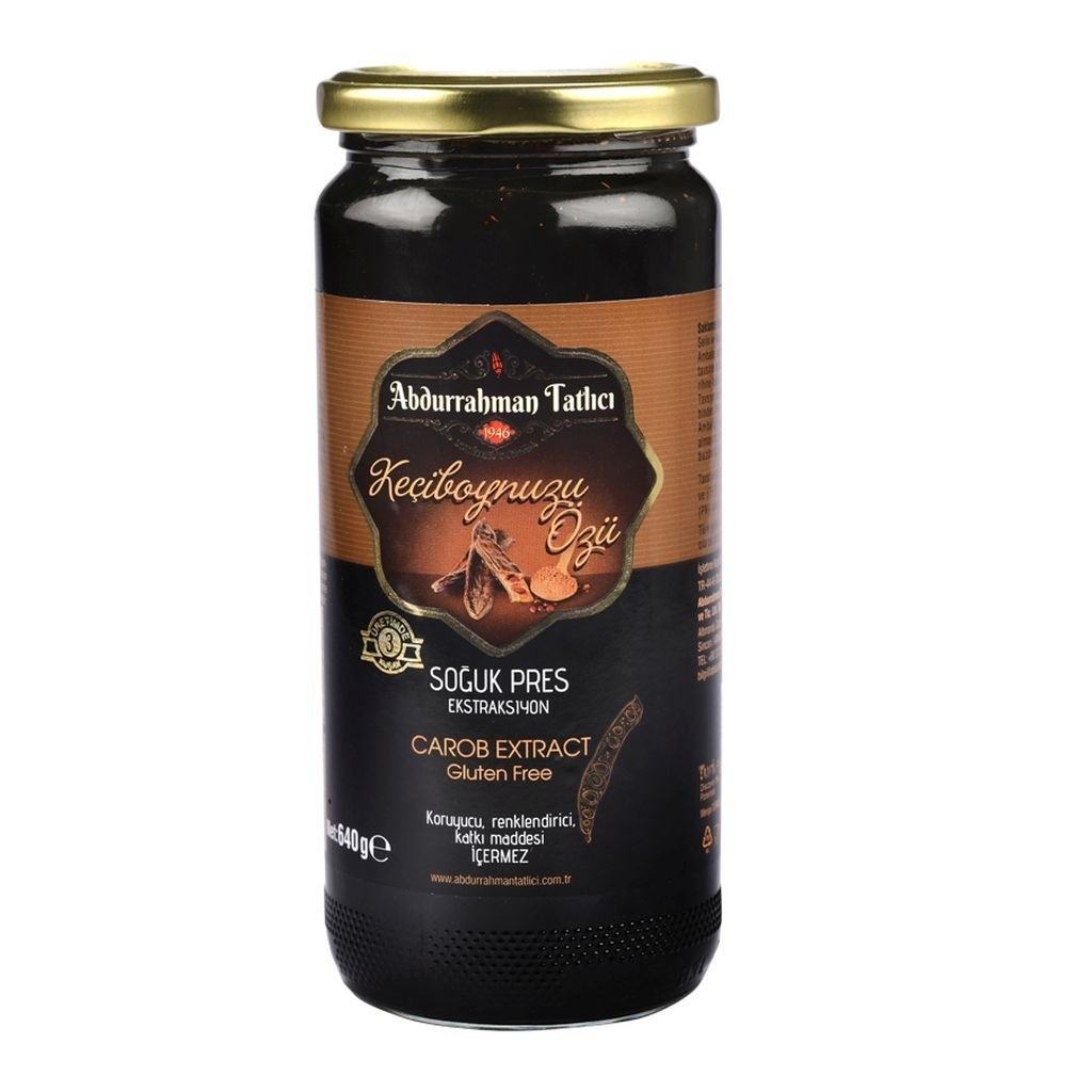 Abdurrahman Tatlici Cold Press Carob Syrup Extract 640gr