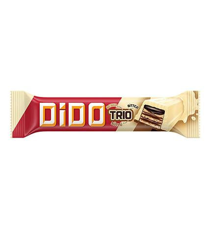 Ulker Dido Trio Chocolate Wafer 35gr