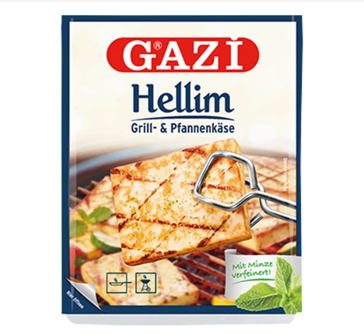 Gazi Halloumi ( Hellim ) Cheese with Mint 250gr