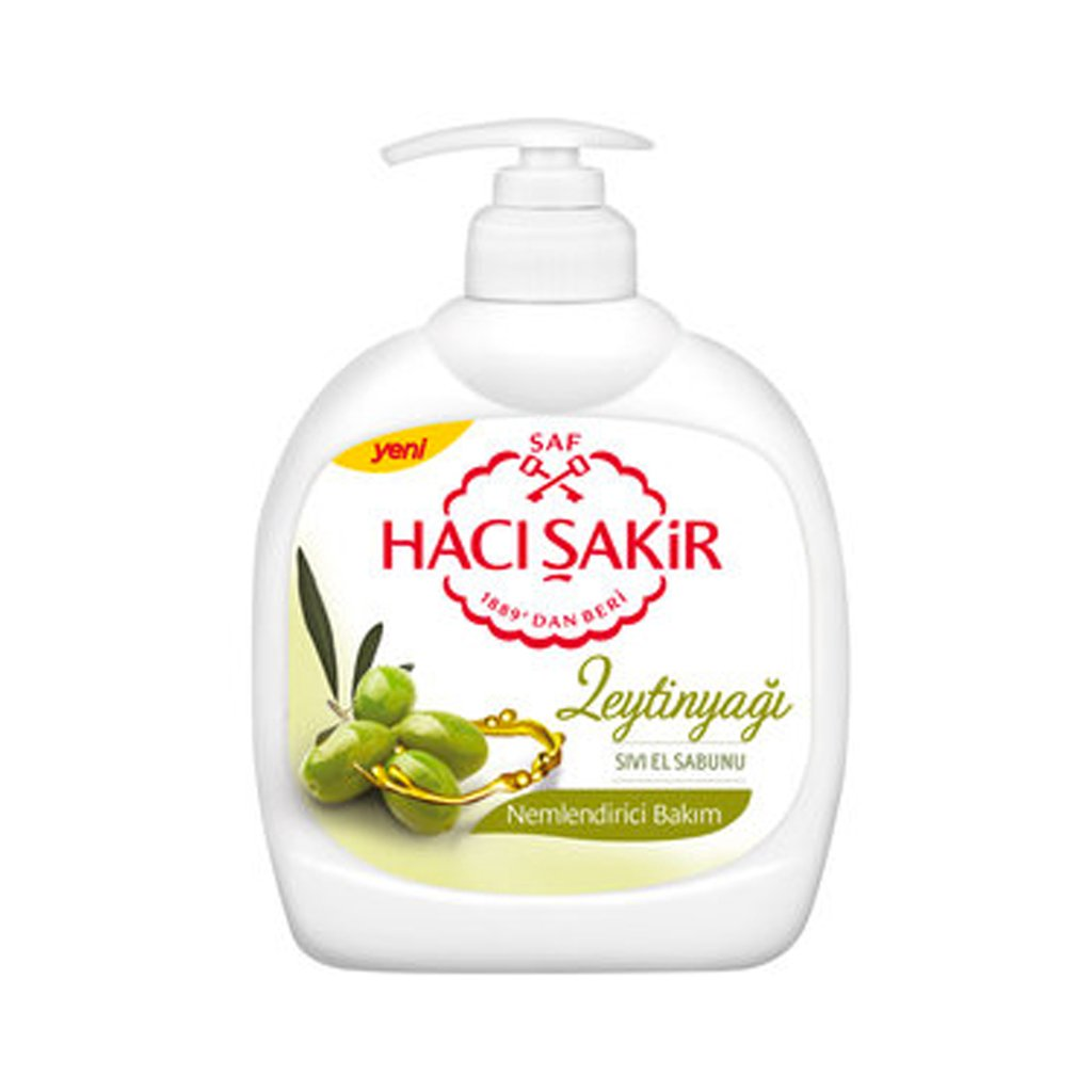 Haci Sakir Liquid Soap Olive Oil 300ml