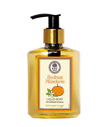EST Bodrum Mandarin Liquid Soap with Organic Olive Oil 250ml