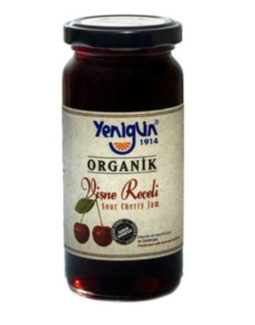 Yenigun Organic Sourcherry Jam 290gr