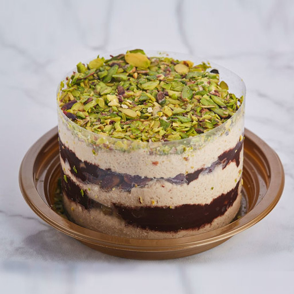 Bese Halva Cake with Pistachio and Chocolate 550gr