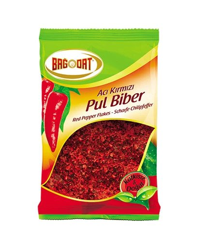 Bagdat Red Pepper Flakes HOT (Aci Pul Biber) 210gr
