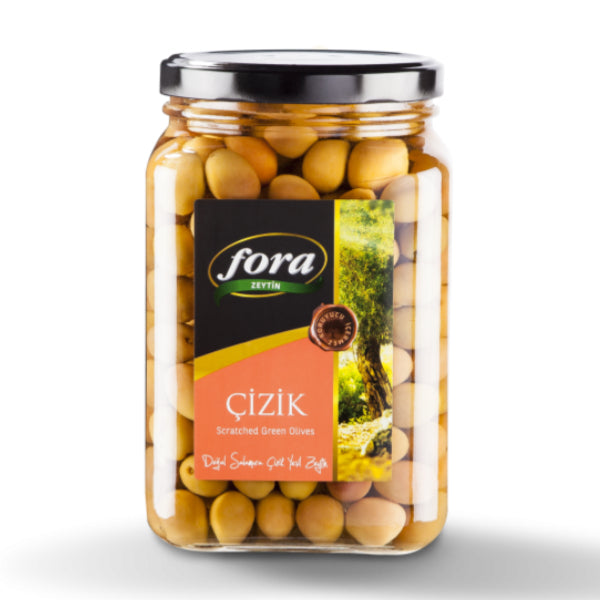 Fora Edremit Scratched Green Olives 1650gr
