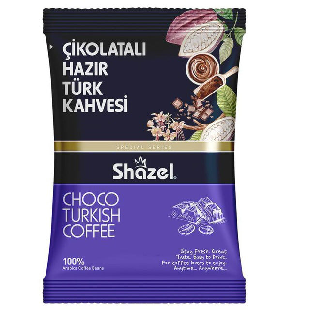 Shazel Choco Turkish Coffee 100gr