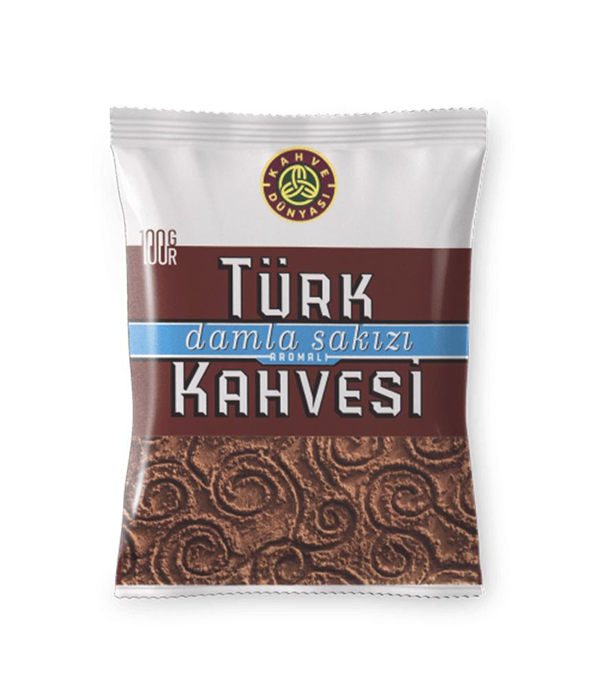 Kahve Dunyasi Turkish Coffee with Mastic Flavour (Damla Sakizli)100gr