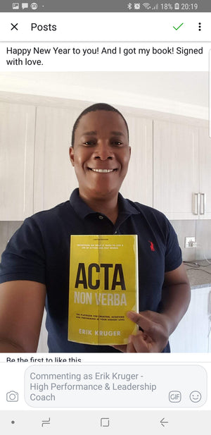 ACTA NON VERBA - THE BOOK (LIMITED EDITION)