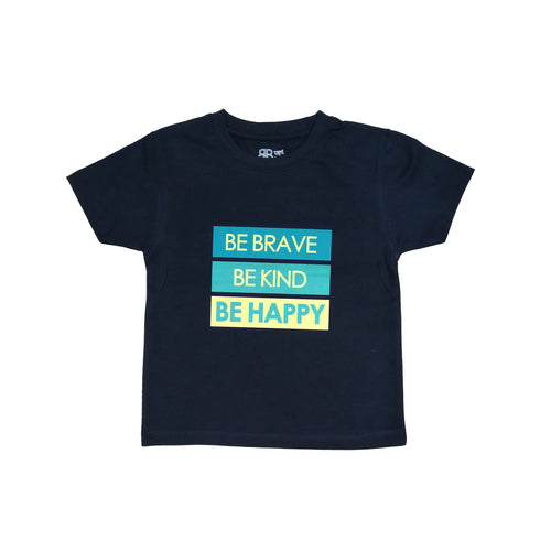T-Shirt Azul Be Brave