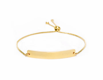 GOLD ADJUSTABLE BRACELET