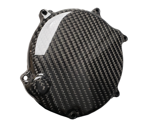 Carbon Fiber Clutch Cover - Kawasaki KX125 03 - 08