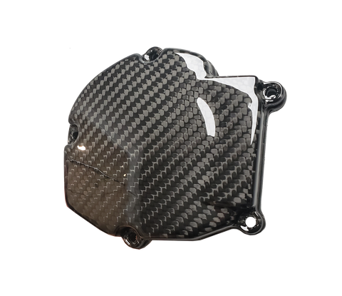 Carbon Fiber Ignition Cover - Kawasaki KX125 03 - 07