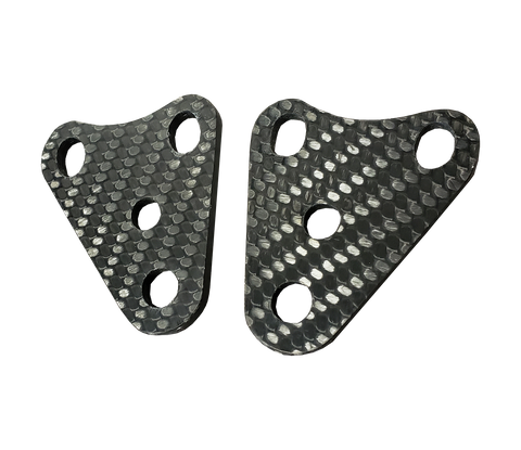 Carbon Fiber Engine Mounts - Kawasaki KX125 03-07