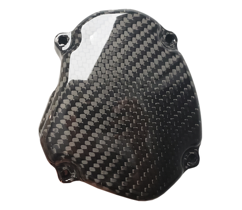 Carbon Fiber Ignition Cover - Yamaha YZ125 05 - 20