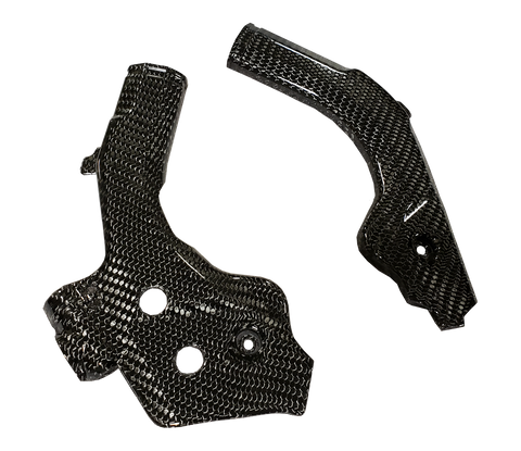 Carbon Fiber Frame Guards - Husqvarna 19+