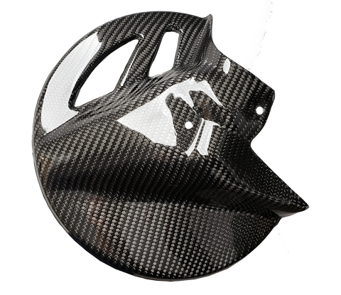 Carbon Fiber Front Brake Disc Guard - Yamaha YZF 14+