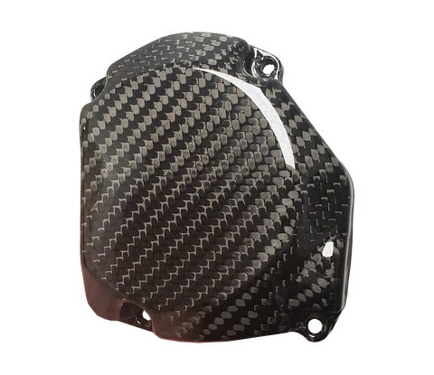 Carbon Fiber Ignition Cover - Suzuki RM125 98 - 08