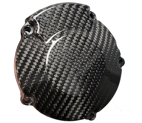 Carbon Fiber Ignition Cover - Kawasaki KX125 92 - 02