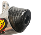 Factory Series Carbon Fiber End Cap - FMF Powercore 2