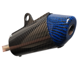 Carbon Fiber Silencer - FMF Shorty CR250 (02-07)