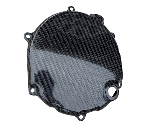 Carbon Fiber Clutch Cover - Kawasaki KX250 05-07