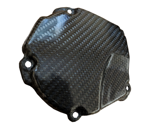 Carbon Fiber Ignition Cover - Kawasaki KX250 05-07