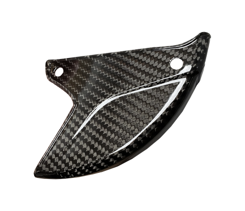 Carbon Fiber Rear Disc Guard - Kawasaki